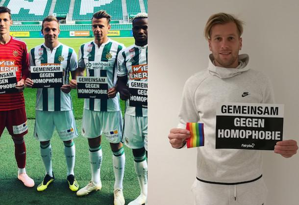 Gemeinsam gegen Homophobie: Bundesliga und ihre Klubs unterstützen europaweite FARE-Kampagne