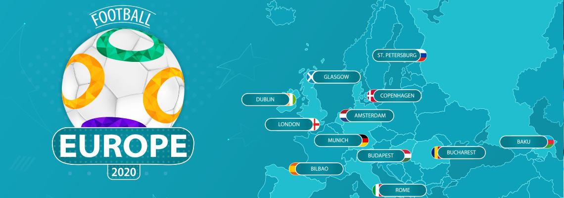 Fußballreisen Angebote EM 2020