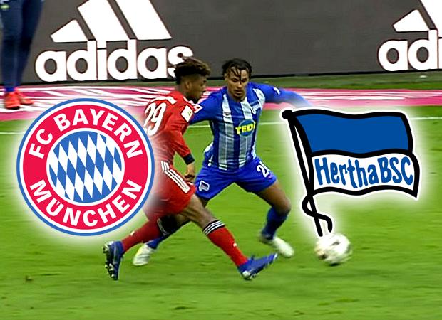 So Kannst Du Heute Das Spiel Fc Bayern Munchen Gegen Hertha