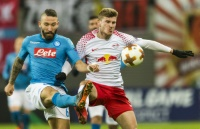 Heimpleite gegen Neapel: Leipzig zittert sich ins Europa-League-Achtelfinale