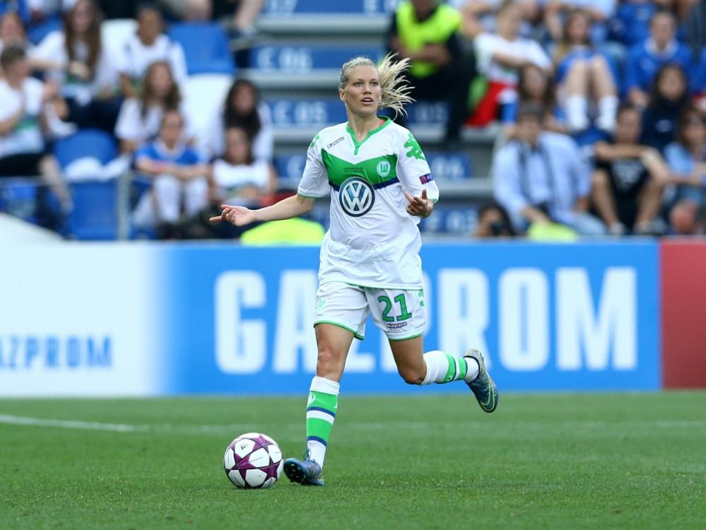 Lara Dickenmann wird dem VfL rund sechs Monate fehlen