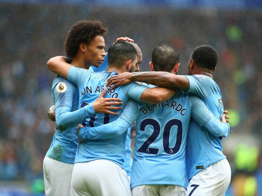 Tabellenführer Man. City besiegt den FC Southampton 6:1