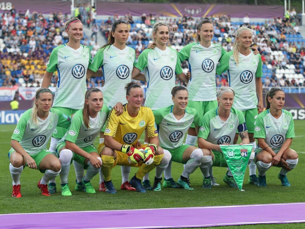 Die Wolfsburgerinnen haben ihre Führung ausgebaut