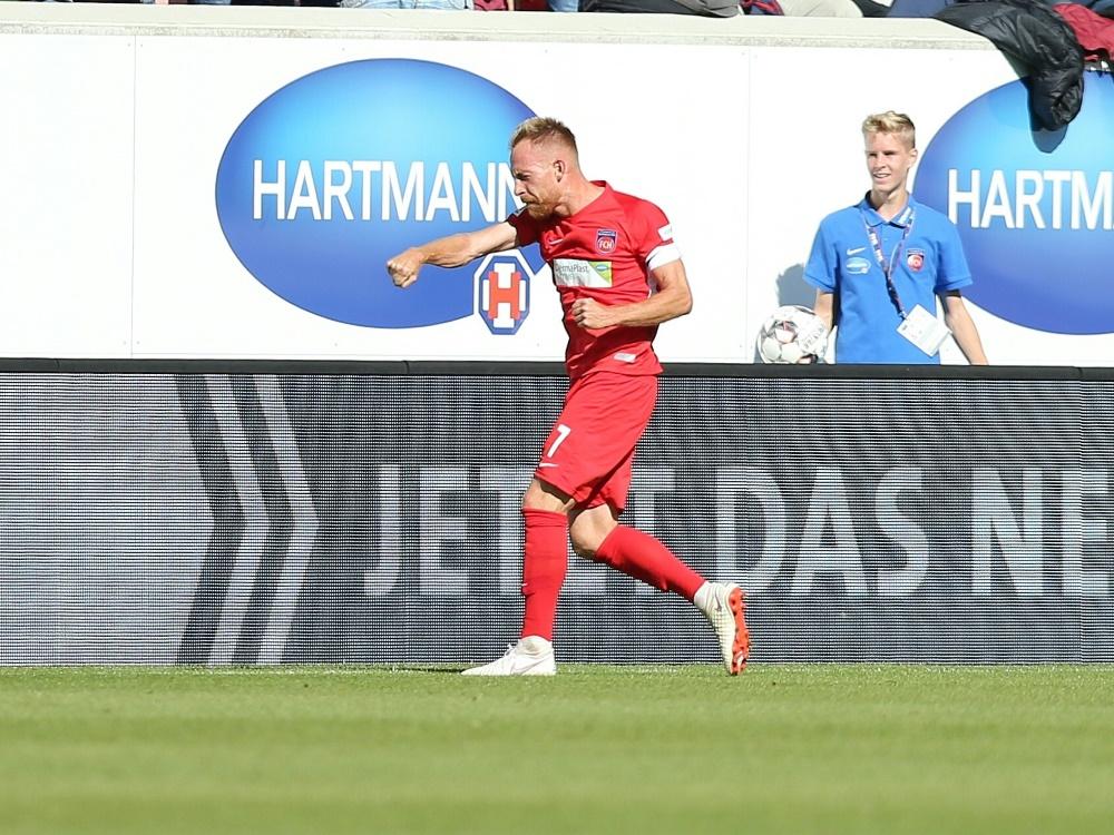 Der 1. FC Heidenheim hält den Anschluss an die Spitze