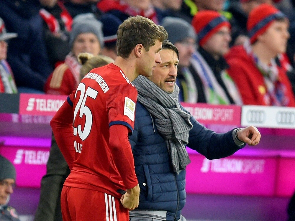 70. Minute: Kovac bringt Nationalspieler Thomas Müller