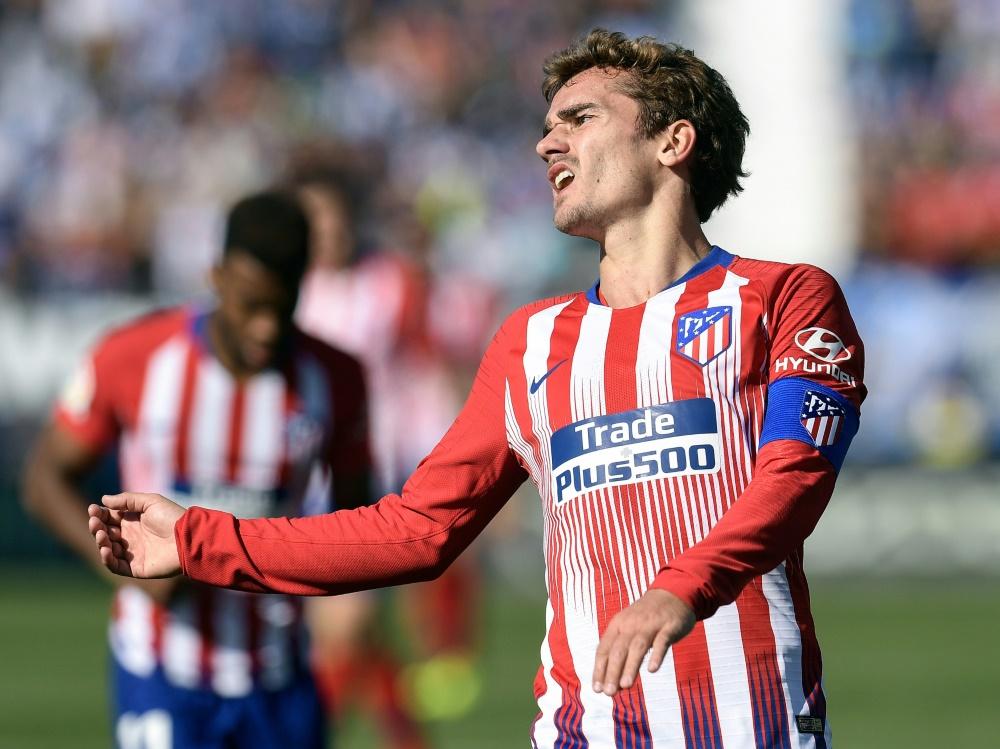 Trotz Griezmann-Tor: Atletico spielt nur Remis