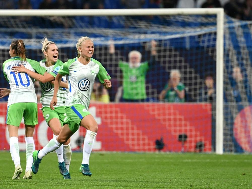 Pernille Harder sichert dem VfL drei Punkte