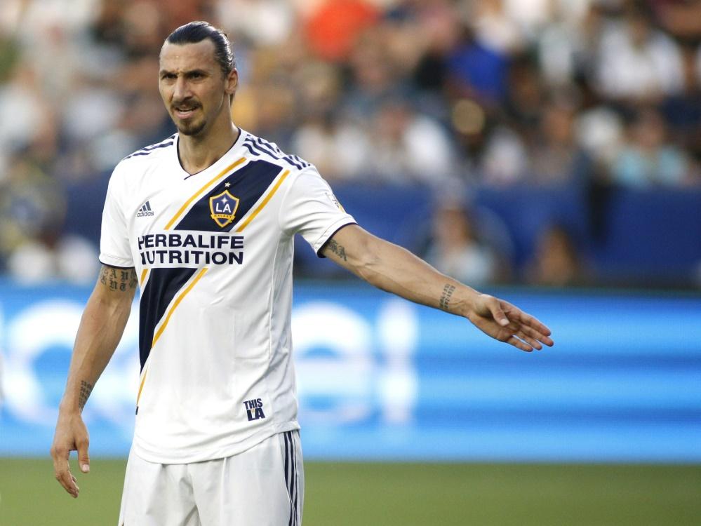 Zlatan Ibrahimovic kann sich eine Zukunft in Los Angeles vorstellen