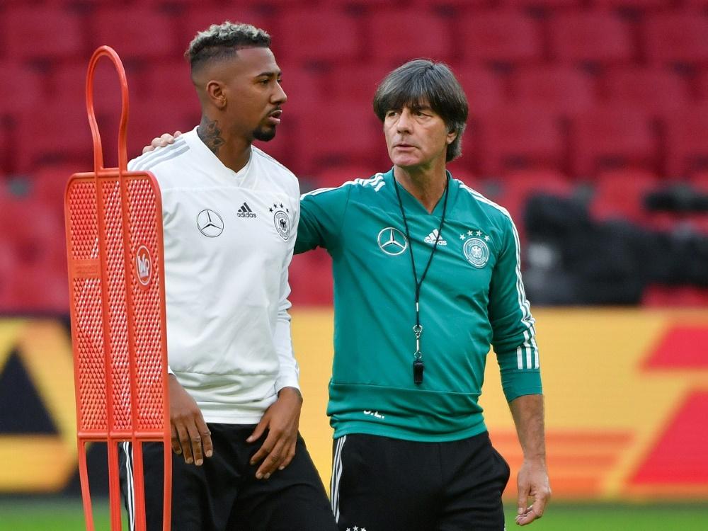 DFB-Team: Joachim Löw plant weiter mit Jerome Boateng
