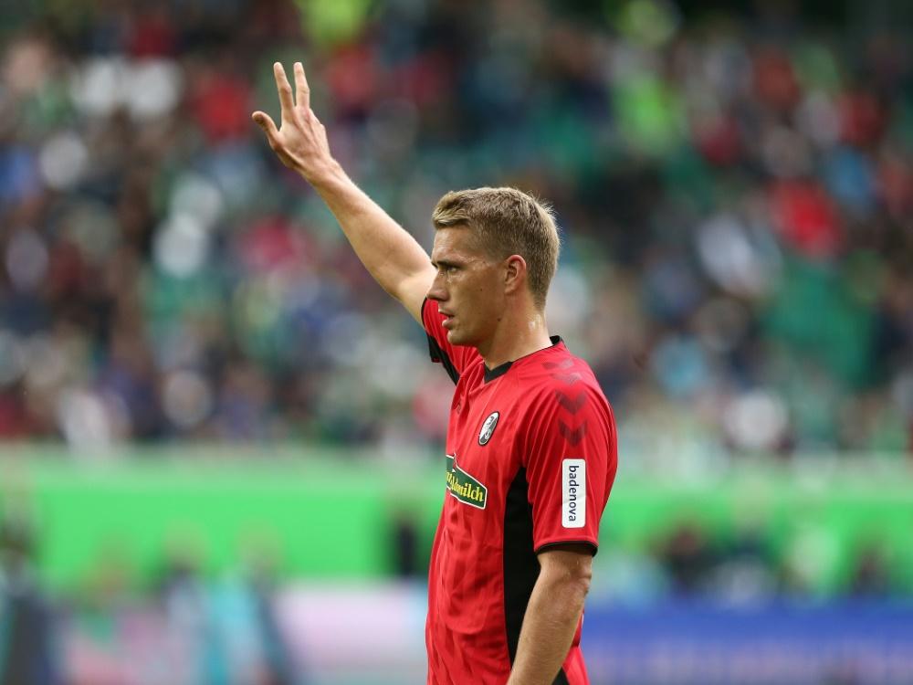 Stürmer Nils Petersen fehlt den Freiburgern gegen Mainz