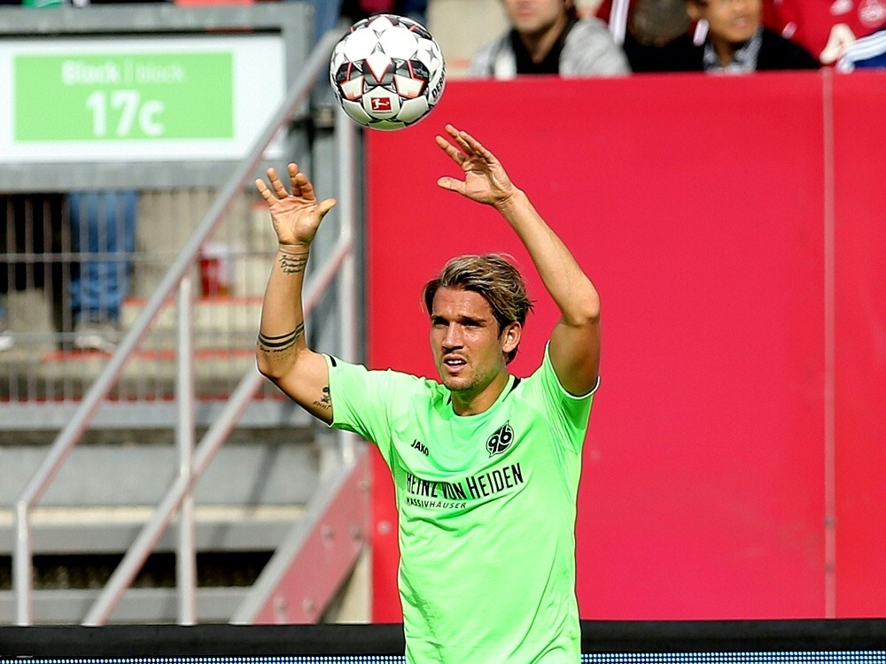 Oliver Sorg fehlt 96 gegen den VfL Wolfsburg