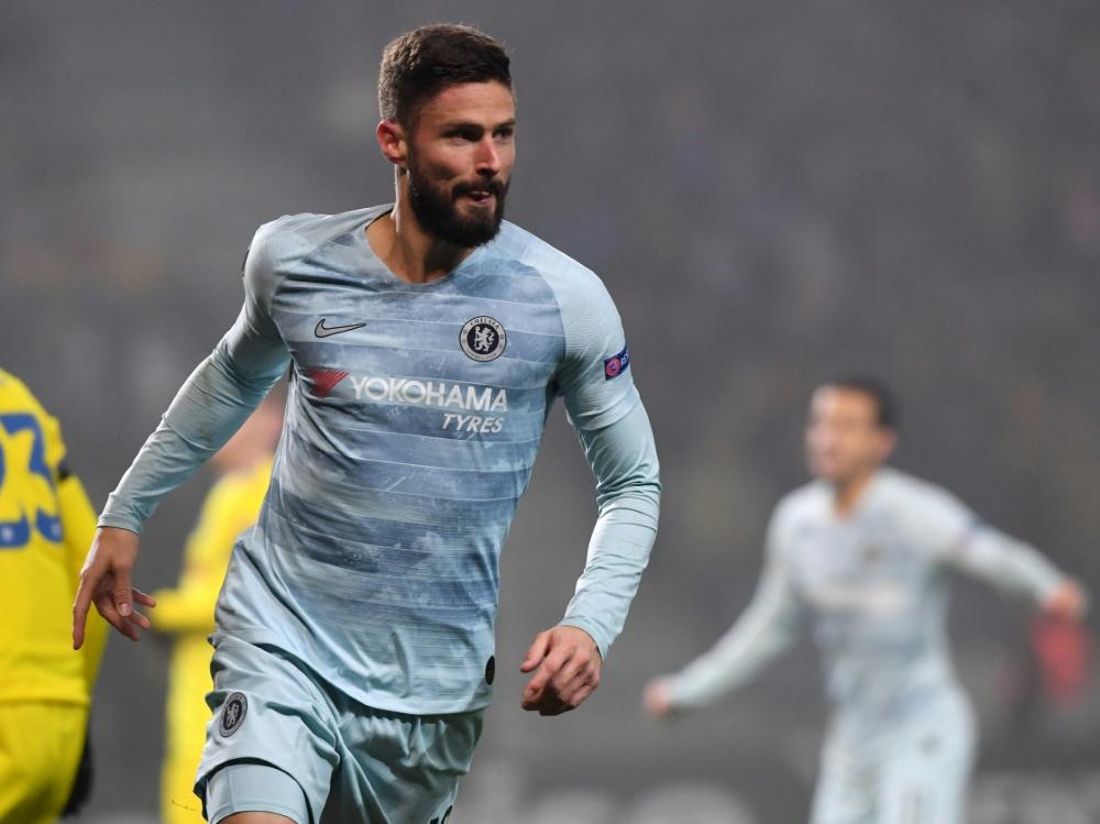 Olivier Giroud ließ Chelsea jubeln