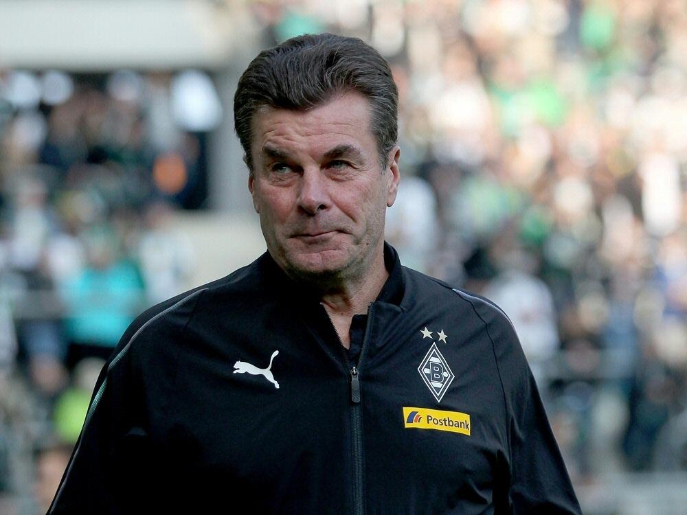 Hecking sieht die Borussia zu Recht oben in der Tabelle