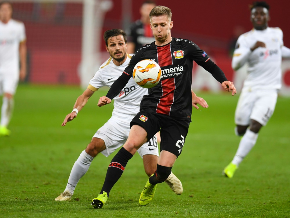 Leverkusen steht in der K.O.-Phase der Europa League