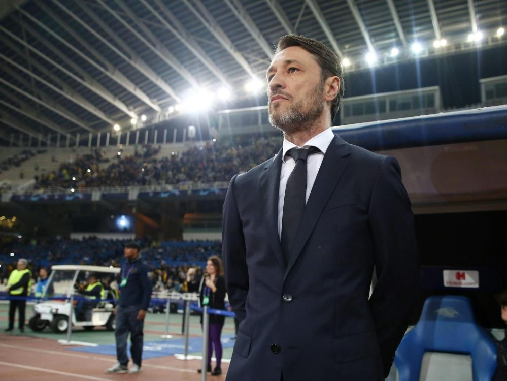 Niko Kovac spürt den Rückhalt der Bayern-Bosse