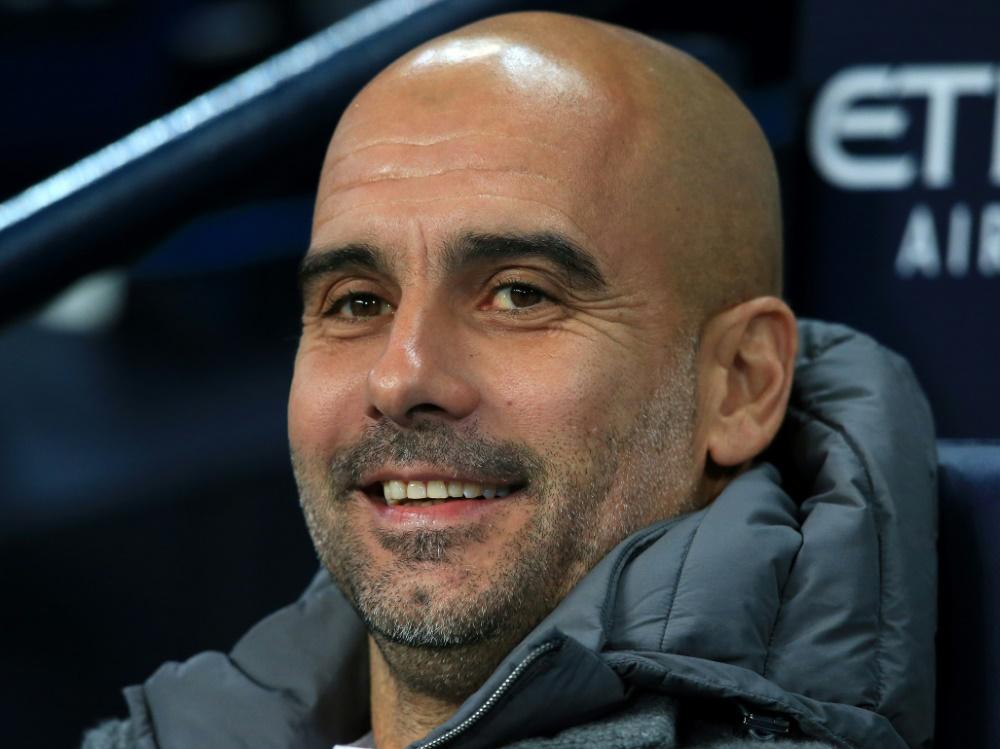 Guardiola wird von englischen Journalisten ausgezeichnet