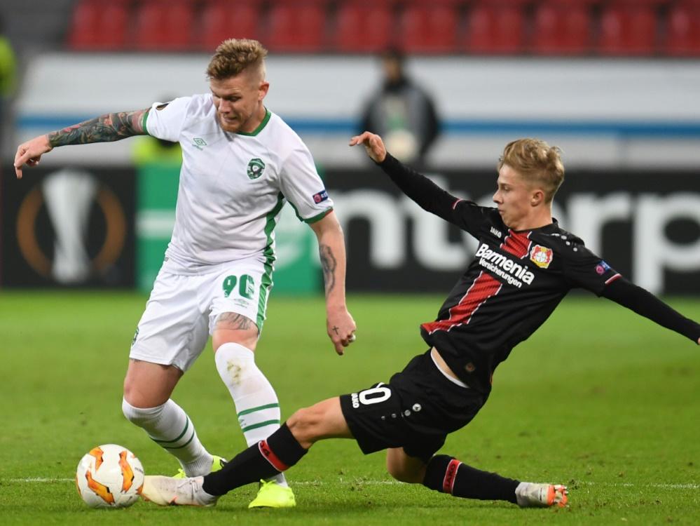 Leverkusen kommt nicht über ein Unentschieden hinaus