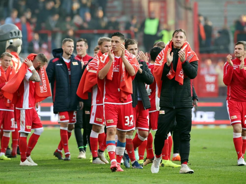 Union bleibt in der 2. Bundesliga weiter unbesiegt