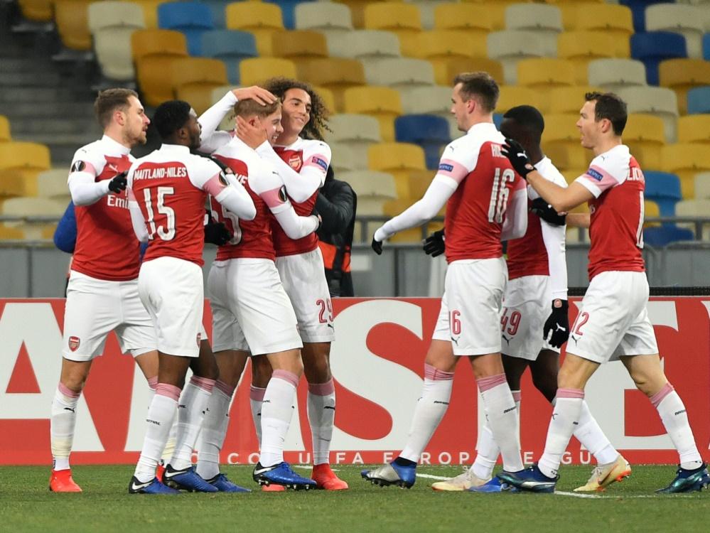 Arsenal gewinnt auch gegen Worskla Poltawa