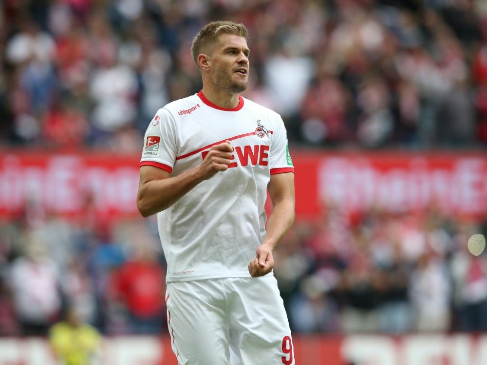 Simon Terodde erzielte zwei Treffer gegen Fürth