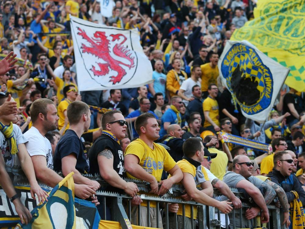 Abstiegsbedroht: Drittligist Eintracht Braunschweig