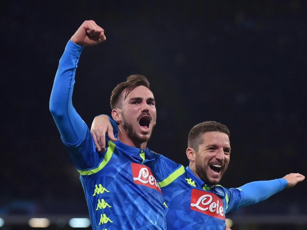 SSC Neapel: Mit 4:0-Sieg sicher auf Platz zwei