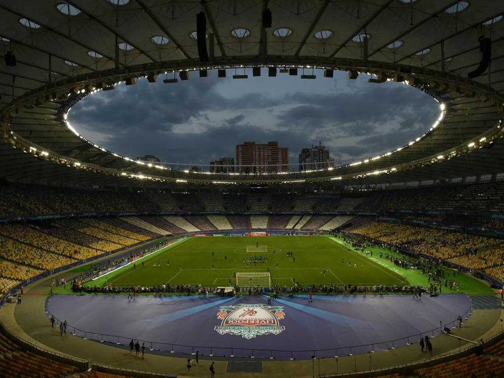 Kiew trug das vergangene Champions-League-Finale aus