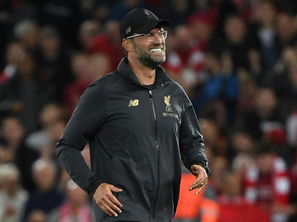 Jürgen Klopp gewinnt mit Liverpool auch gegen Burnley
