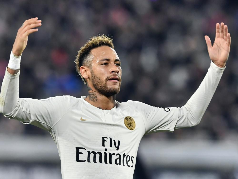 Neymar laboriert an einer Oberschenkelverletzung