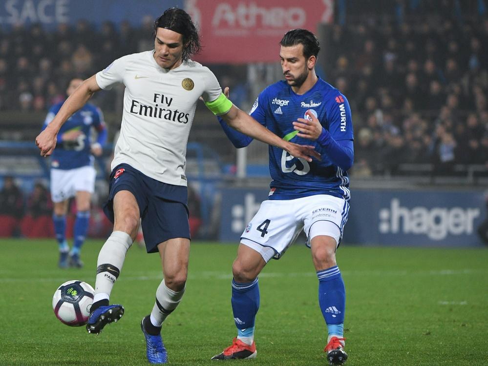 Cavani erzielte per Elfmeter den Ausgleich für PSG