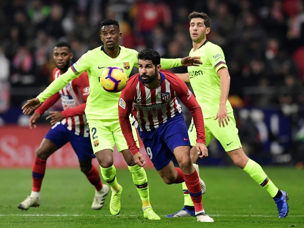 Spanien: Fuß-OP bei Stürmerstar Diego Costa