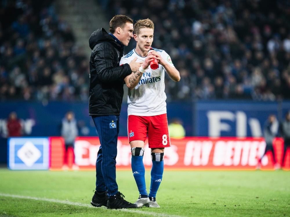 Sieg für Hannes Wolf und den Hamburger SV