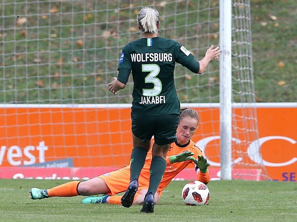 Wolfsburg büßte in Potsdam erste Punkte ein