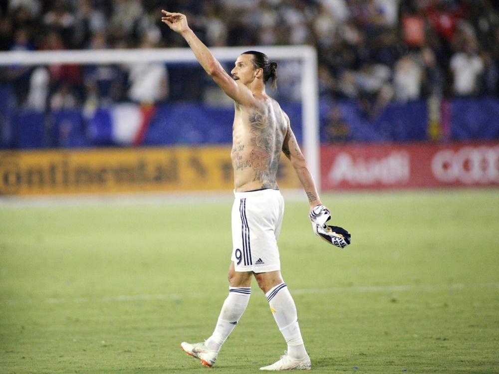 Ibrahimovic bleibt in Los Angeles