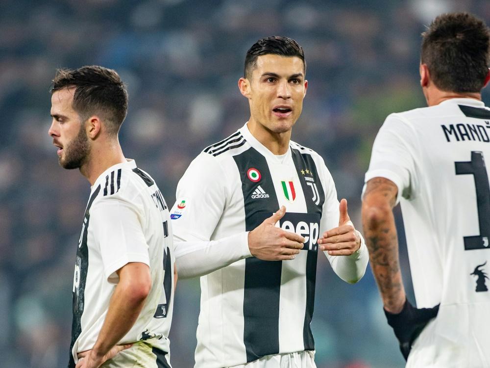 Juventus Turin holt 3 Punkte im Turiner Derby
