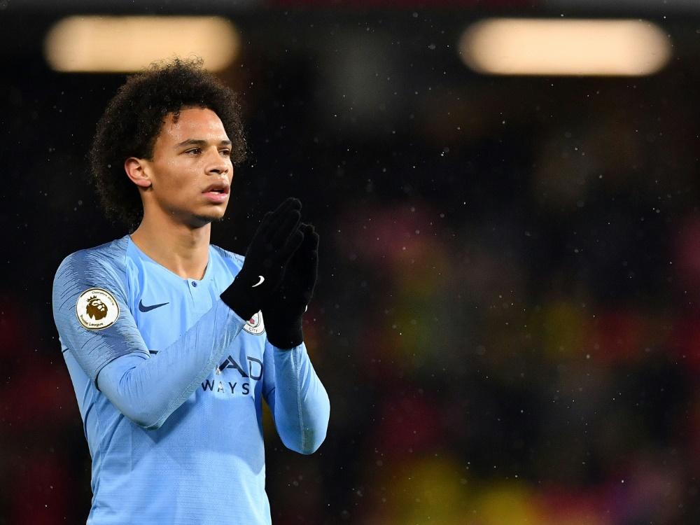 Leroy Sane fühlt sich bei Manchester City wohl