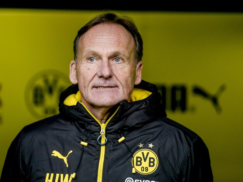 Lieber nicht gegen Liverpool: Hans-Joachim Watzke