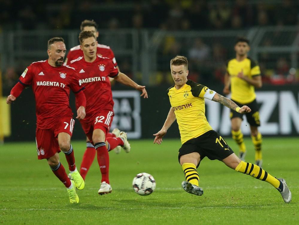 Bayern gegen Dortmund wieder am Samstag um 18.30 Uhr
