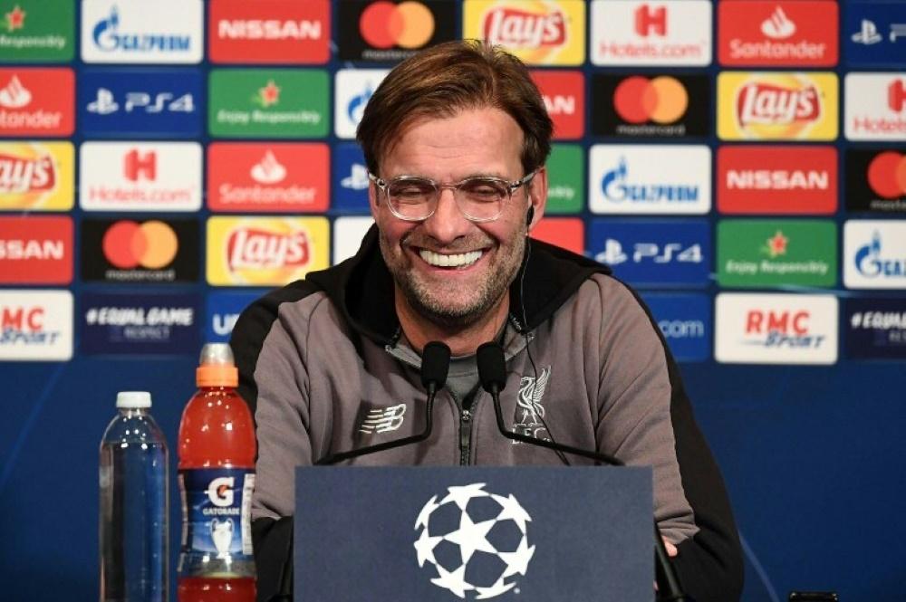 Jürgen Klopp freut sich auf das Duell mit Bayern München