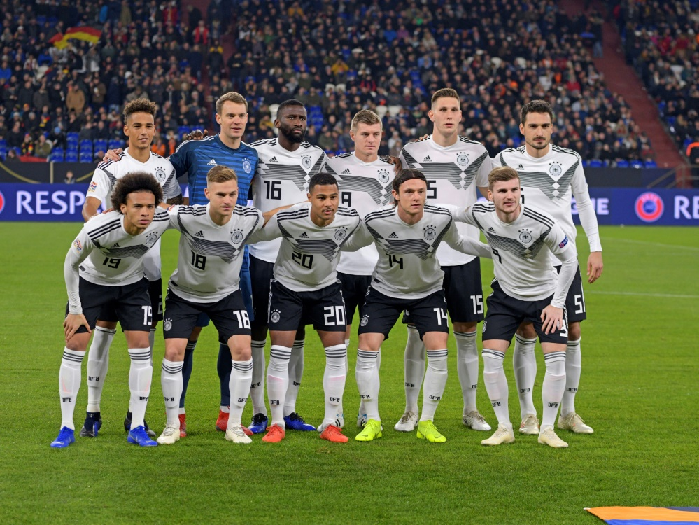 Das DFB-Team spielt zu Beginn gegen Serbien