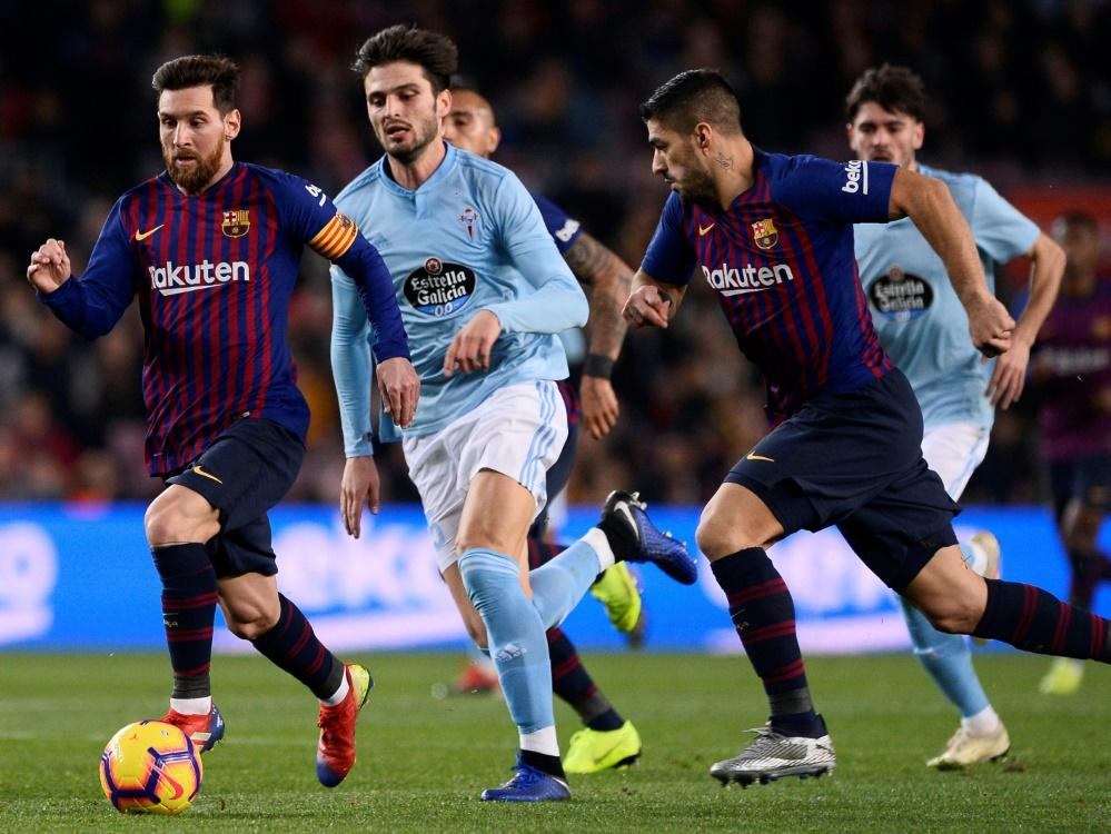 Messi und Co. gewinnen souverän gegen Celta Vigo