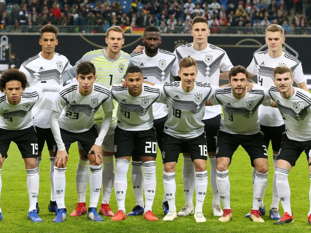 Das DFB-Team steht auf Platz 16 der Weltrangliste