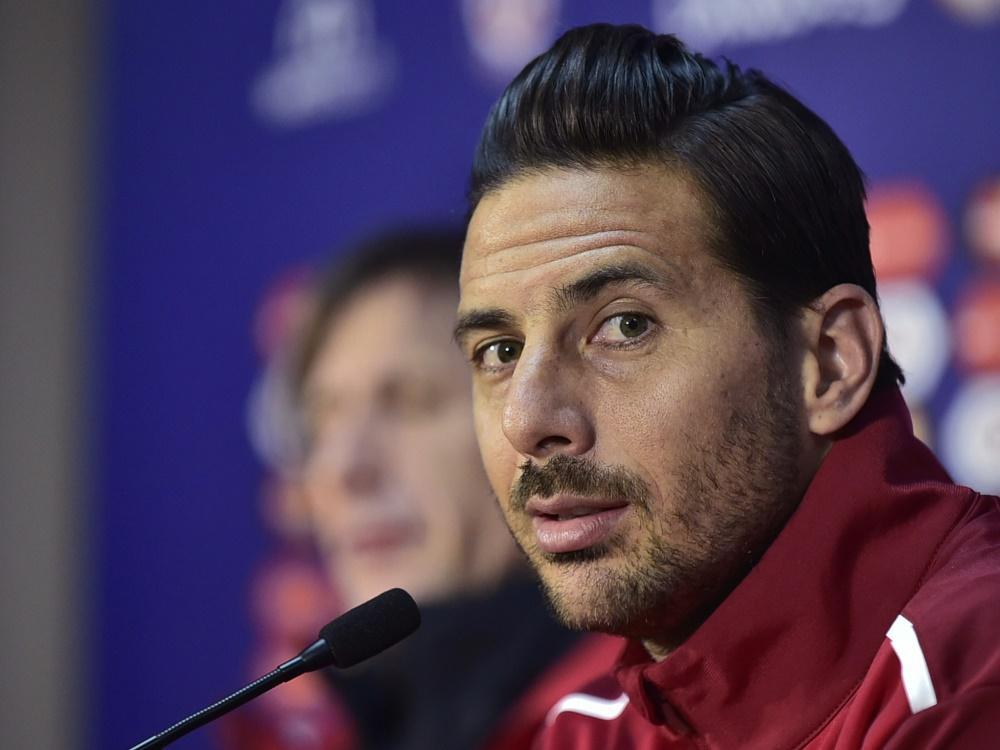 Claudio Pizarro trauert der verpassten WM hinterher
