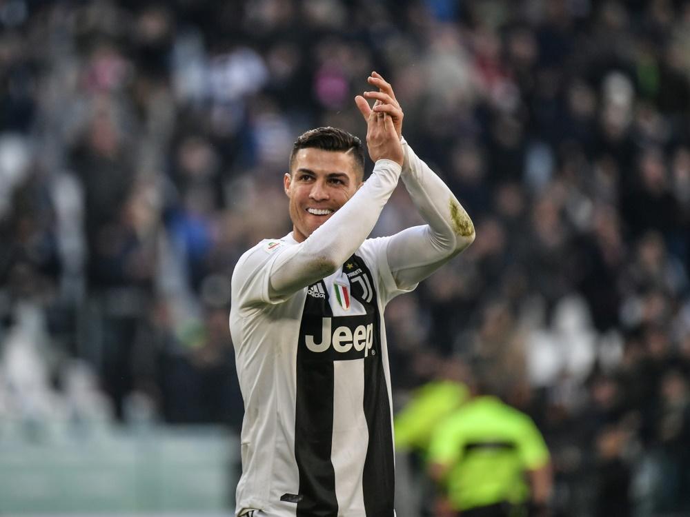 Doppelpacker Ronaldo Beschert Juve Den N U00e4chsten Sieg