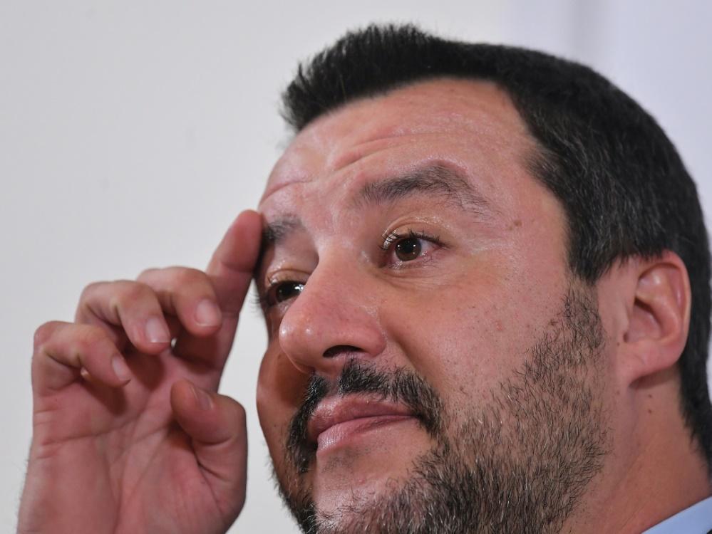 Matteo Salvini sieht die Gewalttätigen als Minderheit