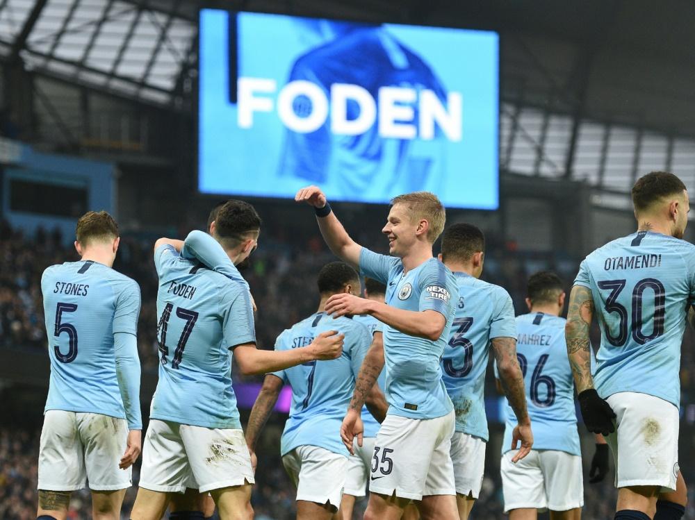 Manchester City zieht mühelos in die nächste Runde ein