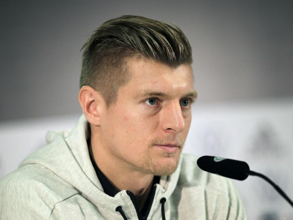 Kroos gründete 2015 die