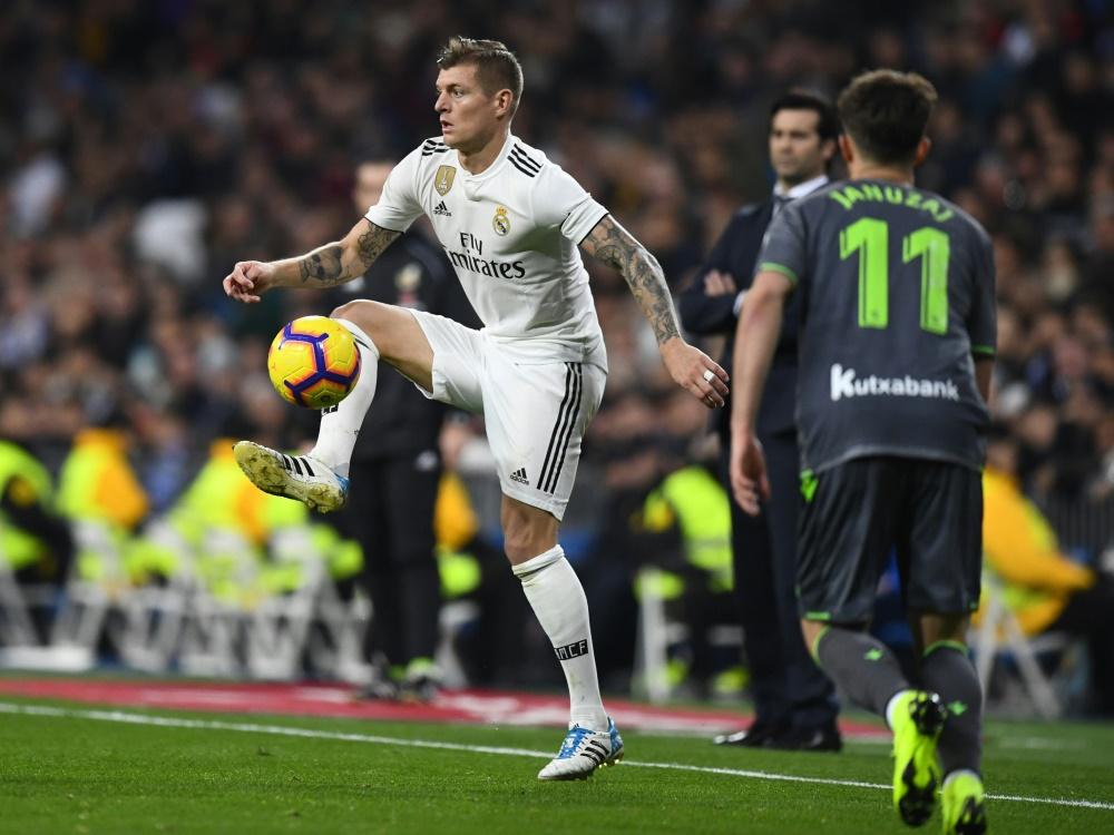 Verletzte sich gegen Real Sociedad: Toni Kroos
