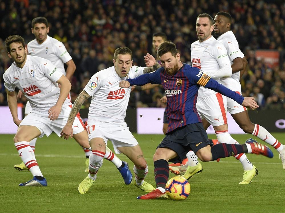Messi gelang gegen Eibar ein historisches Jubiläumstor