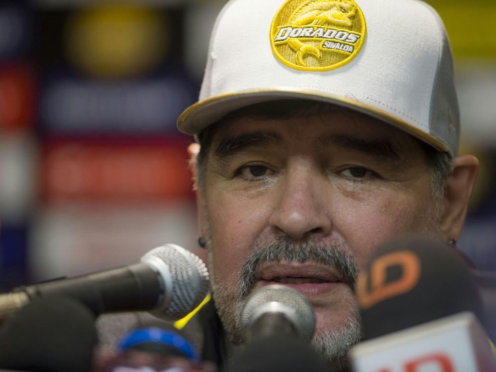Diego Maradona musste operiert werden
